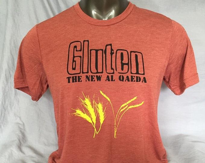 Funny TShirt:  Men's T-Shirt, Gift Under 20, Gluten Free Shirt