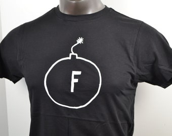 T-Shirt, F-Bomb, Funny TShirt,Guys T Shirt, Father's Day Present