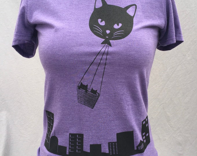 Kittys, Cat, Balloon, Cute, T-Shirt