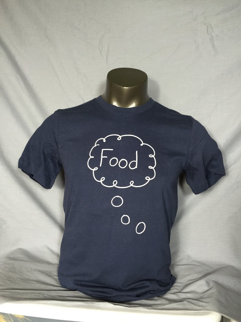 Men's T Shirt Food Foodie Hungry Funny Shirt Funny image 0