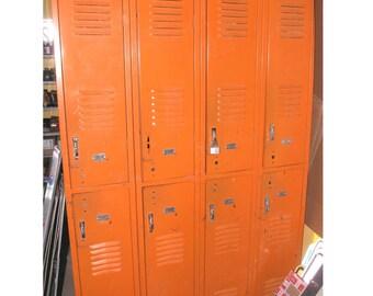 Orange Crush Metal School Gym Workshop Garage Lockers Local Pick Up  Huntsville Texas, Kids Room, Office Organizer