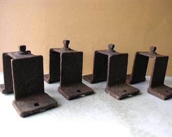 Old rusty metal object, bracket alternative, mixed media supply, wall bracket, sculpture supply
