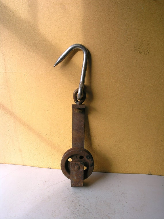 Hook Pulley Diy Sliding Barn Door Garden Accessory