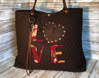 efb6255a3d Leather bible bag