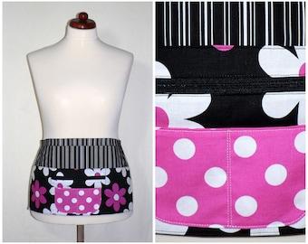 Lil Plain Jane Multi-Pocket Apron with zipper money pocket, great for vendors, teachers, photographers, waitress, LAST ONE made to order