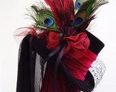 Gothic Steampunk wedding top hat
