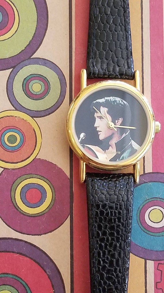 Elvis Presley fashion watch