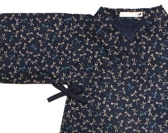 KIMONO BEBE, ENFANT, en tissu japonais