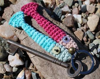 Hand Crocheted Something Fishy Keyring