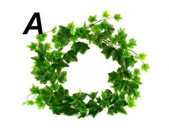 ivy wreath etsy