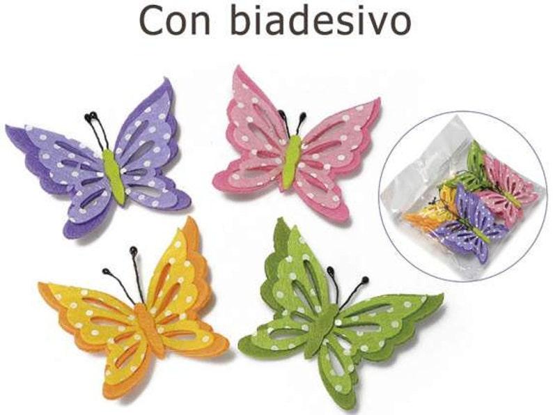 12 Burgundy Satin Butterflies Embellishments