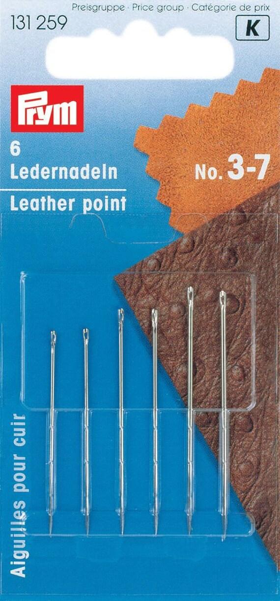 Leder Nadeln 6 Stück Verschiedene Größen Prym Etsy