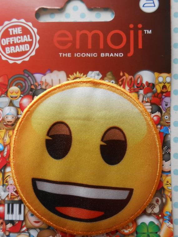 Emoji Bügelbild Applikation Emoticon Etsy
