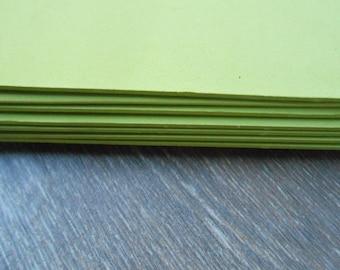 Moosgummi 3 Sheets EVA Foam Craft Fommy Solid Color 40x30 Pistachio Green