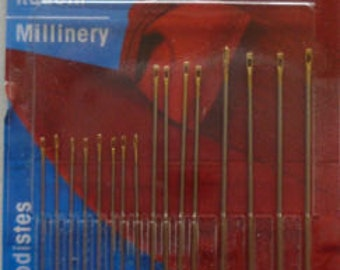 Millinery Needles Prym Set of 16
