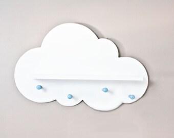 Cloud Wall Shelf- Space Saver