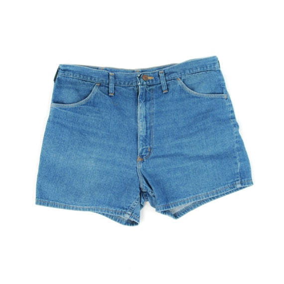 Vintage 70s 80 Wrangler Blue Cotton Denim Retro Je