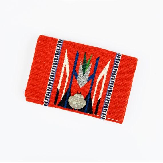Vintage 30s 40s Fred Harvey El Grandee Red Wool Ch
