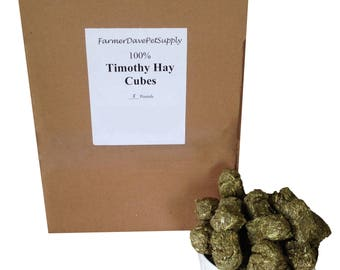 5 lb. Premium Timothy Hay Mini-Cubes