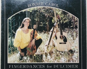 Bonnie Carol LP Fingerdances for Dulcimer