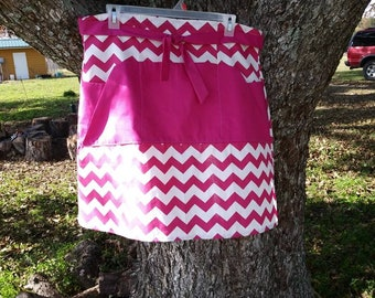 Pink Homesteader's Apron - READY to ship!