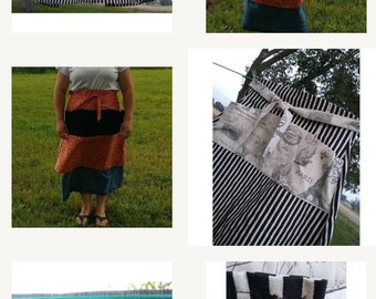 Pre_Order_Homesteader's Apron ~ choose your own fabric and size!