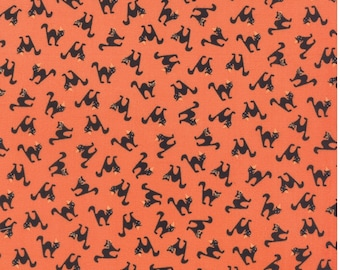 2903 13 by 1//2 yard MODA Fabric ~ SPOOKY DELIGHTS ~ by Bunny Hill Ivory