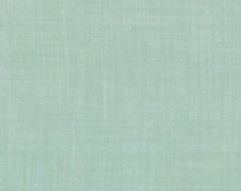 Weave fabric aqua color from Moda fabric 9898 70