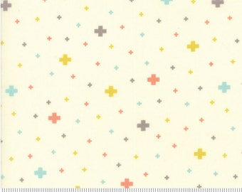 Desert Bloom cotton ivory fabric by Sherri and Chelsi for Moda fabric 37523 11