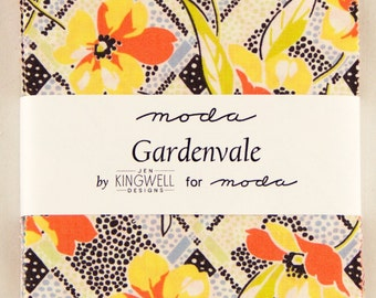 Gardenvale cotton charm pack by Meg Kingwell for Moda fabric