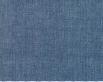 Moda Chambray cotton fabric  Indigo by Moda fabric 12051 13