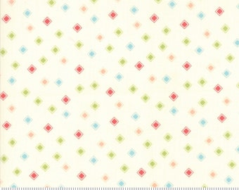 Harpers Garden  cotton fabric one yard and 22 inches by Cherri and Chelsi Moda fabric 37577 11