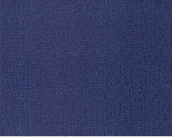 Thatched Cotton fabric navy by Robin Pickens for Moda fabric 48626 94