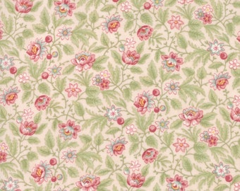 Poetry cotton fabric by 3Sisters for Moda fabric 44134 15
