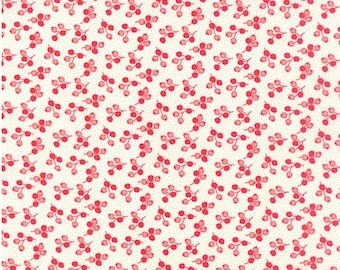 Sale Little Ruby cotton fabric by Bonnie and Camille for Moda fabric 55133 17