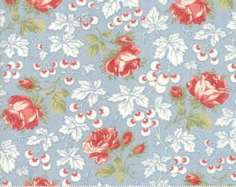 Victoria cotton fabric by 3 Sisters for Moda fabric 44161 12