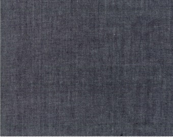Moda Chambray black cotton by Moda fabric 12051 11