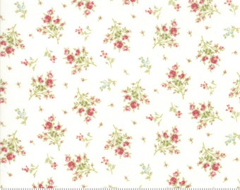 Rue 1800 cotton fabric by 3 Sisters for Moda fabric 44227 11