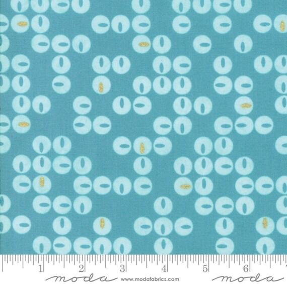 Day in Paris cotton metallic fabric by Zen Chic for Moda fabrics 1682 22M