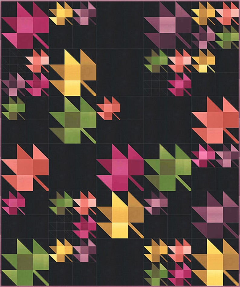 Fall Breeze quilt pattern by V and CO image 0
