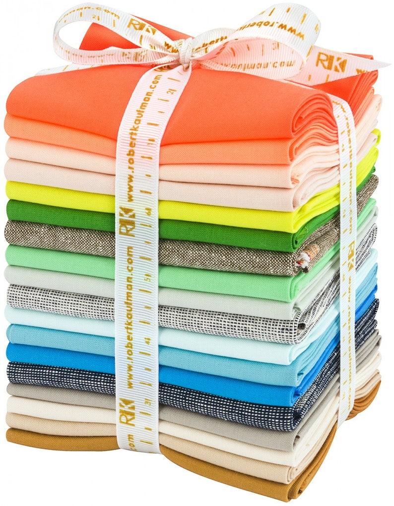 Gleamed coordinates fat quarter bundle by Carolyn Friedlander for Robert Kaufman fabrics