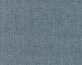 Moda Chambray cotton grey fabric by Moda fabric 12051 12