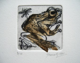 Frog drypoint