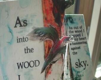 Woodpecker, artists book