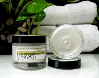 Tea Tree Honey Face scrub and Mask