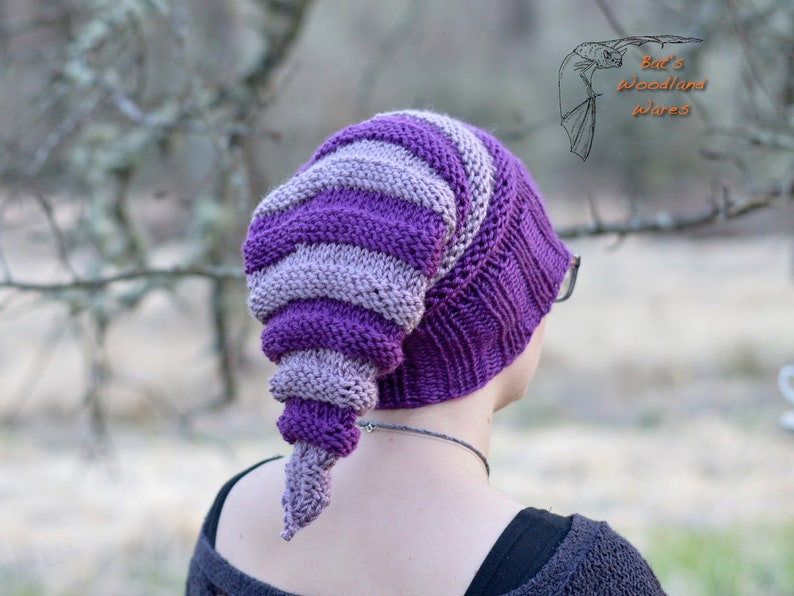Graphorn Elf Hat Magical Pointed Beanie READY TO SHIP