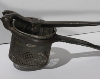 Silver & Co., Brooklyn, NY, Antique Potato Ricer or Masher
