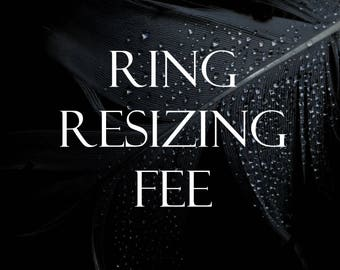 Ring Resizing Fee Add-on
