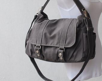 565526601a6 Messenger Bag, Grey, Diaper Bag, Laptop Bag, School Bag, Shoulder Bag, Women  Bag, College Bag, gift for DAD, Gift for mum, Sale, On Sale
