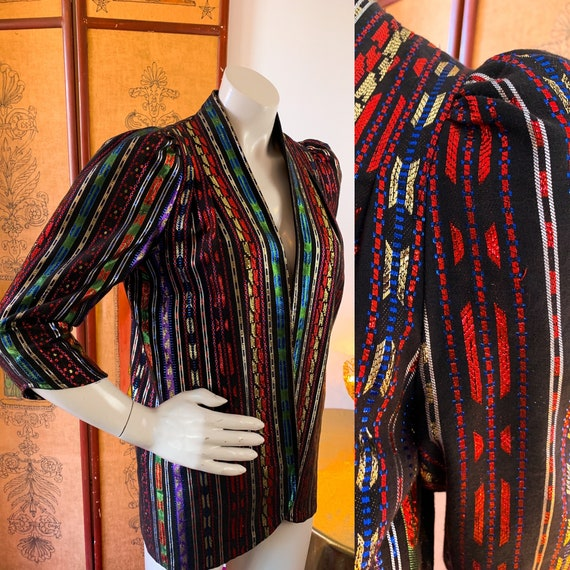 RAINBOW Metallic Designer Jacket